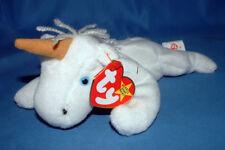 Ty Beanie Baby Mystic - MWMT (Unicorn Tan Horn Yarn Mane 1994)