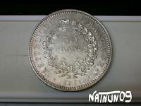 FRANCE / 50 FRANCS - 1976 / SILVER COIN