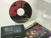 Vampire Savior Darkstalkers w/ Ram cartridge Sega Saturn SS JP Capcom NSCT-J