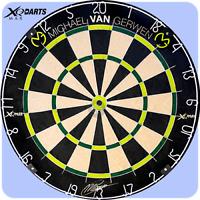 XQMax Michael van Gerwen Professional Dartboard African Sisal MVG Free P&P