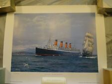 Maritime Cunard  Prints limited edition with certificate