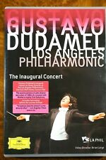 Gustavo Dudamel, Los Angeles Philharmonic - The Inaugural Concert  - DVD, As New