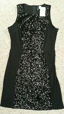 H&M Mini Sequin Sleeveless Dresses for Women