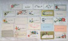 Antique 19th Century Calling Cards