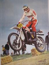 Centerfold Poster Yamaha 500 1977 #49 Mikkola + Suzuki  500 1975 #? Wolsink