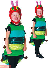 Deluxe 6-8y Very Hungry Caterpillar Kids Fancy Dress Book Day Child Costume