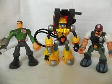 Fisher Price RESCUE HEROES Lot of 3 Different Figures