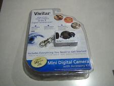 New Vivitar 3 in 1 Mini Digital Still Camera, WEB Cam & Video (Rare white Case)