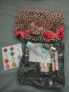 New Estee Lauder Resilience Lift Travel Samples Set Skincare Makeup Bag 8pc