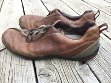 Merrell Vanish brown Leather lace up Shoes Sneakers Size 11 Men's