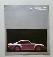 Porsche 959 1986 depliant originale tedesco depliant originale brochure