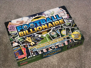 FOOTBALL BILLIONAIRE GAME : COLLECTOR'S LIMITED FIRST EDITION - VGC (FREE UK P&P