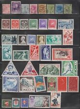 MONACO - Collection Of Mint Hinged & Used - Good Value