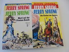 8x Jerry Spring nº 1-8 carlsen Verlag