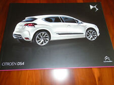Citroen DS4 range brochure Dec 2012