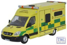 76MA002 Oxford Diecast Mercedes Sprinter Ambulance London 1/76 Scale OO Gauge
