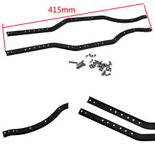 2 Stainless Steel Chassis Frame Rails for Axial SCX10II AX90046 1/10 RC Crawler