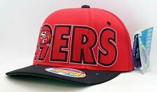 b3946cfc466 San Francisco 49ers Red Black Starter Flexfit Hat-S41582