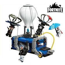 Fortnite Lego Set Battle Bus Model 600+ Pcs Brick Toys for Children Holiday Gift