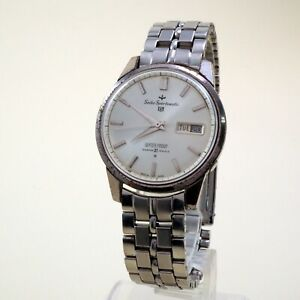 Vintage 1963 Seiko Sportsmatic 5 Day-Date Cal.410 21Jewels works Parts/Repair