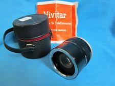 Vivitar Automatic Tele Converter 3x-21 Conversion Lens for Olympus Om Cameras