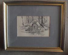 Small Vintage Spangler's Spring Print by John Sullivan Framed