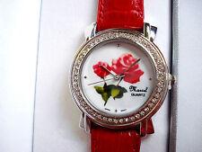 Ladies Marcel Drucker Collection Wrist Watch Roses