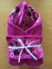 Minnie Mouse Hooded Towel & Wash Cloth