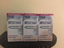 TRUEtrack Diabetic Blood Glucose Test Strips, 150 CT Box EXP 2020+