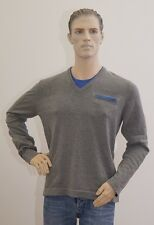 ESPRIT Langarm dünner Pullover grau Herren Größe L (1704G-PA-OH3#) 04/2020