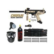 Tippmann Cronus Paintball Marker Gun Player Package Harness, Mask, Co2 Tank, Oil