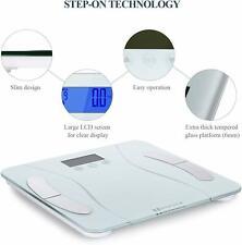 Marnur Digital Body Fat Scale Personal Body Weight Bathroom Scales with High Pre