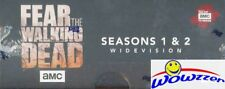 Topps Fear the Walking Dead Season 1 & 2 WIDEVISION Sealed Hobby Box- 2 AUTO