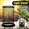 Reptile Lamp Guard Bulb Cage Light Cover Ceramic Vivarium Heat Protective Mesh