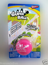 PINK SUPER BALL BY: WHAM-O! MADE OF ZECTRON! TM! FREE SHIP! NEW! PINK! BLAST!