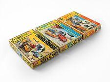 ImaI Thunderbird x 3 box International Rescue Mini Vehicle Series No.1, 4 & 5