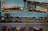 Postcard Howard Johnson's Motor Lodge Restaurant Savannah Georgia GA
