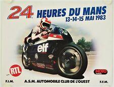 Affiche 24 HEURES DU MANS 1983