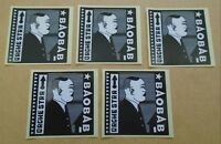 ORCHESTRA BAOBAB Tribute To Ndiouga Dieng UK promo only set of five stickers