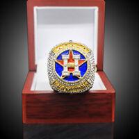2017-2019 Houston Astros World Series Championship NBA NHL MLB S8-14 Alloy Ring