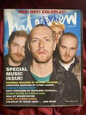Chris Martin Signed Interview Magazine Coldplay In Person Autograph
