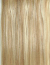 7A 15-20 EXTENSIONS DE CHEVEUX TAPE BANDES ADHESIVE POSE A FROID NATUREL