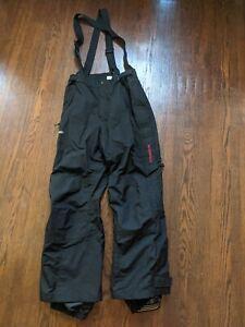 Columbia Omnitech Titanium black MEN'S Small bibs ski snow pants