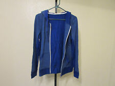 NWT Abbot Main Womens Hooded Zippered Jacket-Color-Blue Dazzle-Size-Small