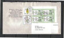Ungeprüfte Briefmarken aus der BRD (1980-1989) mit Blumen-Motiv