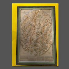 New listing Civil War * Gettysburg Battle Topographical Map * 1960s Must See !