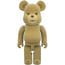 $110 Medicom Ted 2 400% Bearbrick Figure tan
