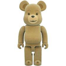 $110 Medicom Ted 2 400% Bearbrick Figure tan