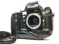 [Exc+5 S/N: 245xxxx] Nikon F4S Late Model 35mm SLR Film Camera Body from JAPAN
