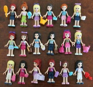 1x Lego Minifig Friends Female Mia Emma Andrea Olivia Stephanie or Livi AS NEW